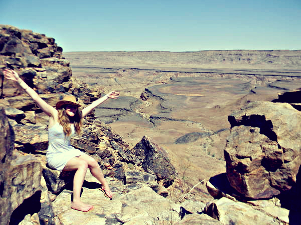 Fish River Canyon.
