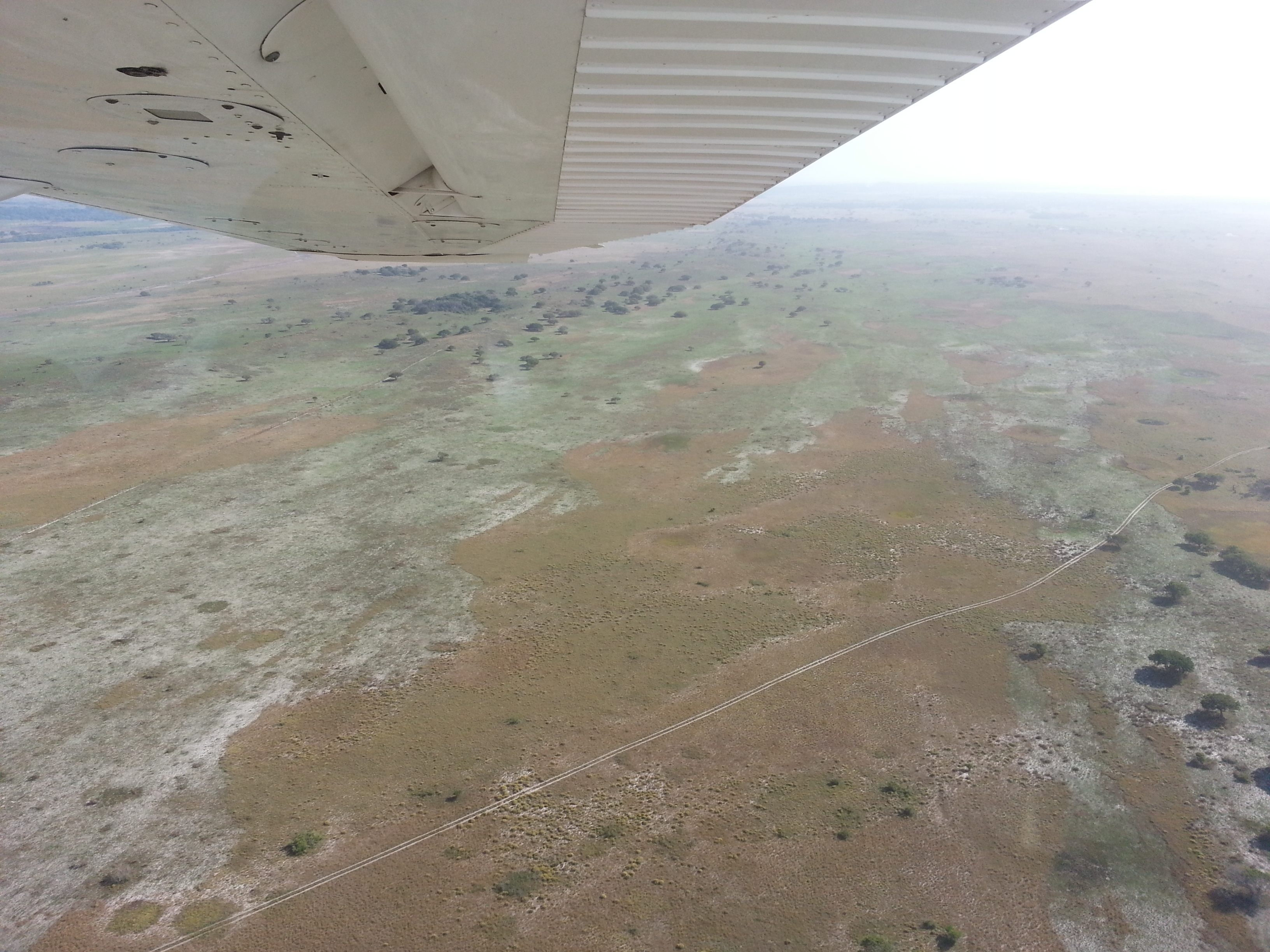 My out of Africa moment while flying in a tiny 4-seater Cessna