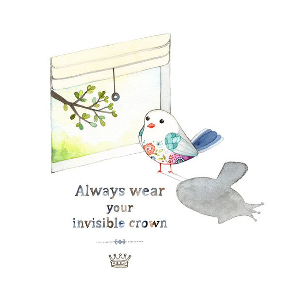http://society6.com/joojoo/always-wear-your-invisible-crown-iji_print#1=45