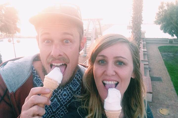 sunset, sea point, cape town, sea point promenade, africa, south africa, travel, ice cream, love