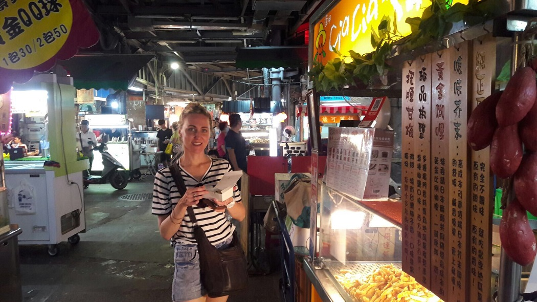 taiwan, taipei, night market, food, street food