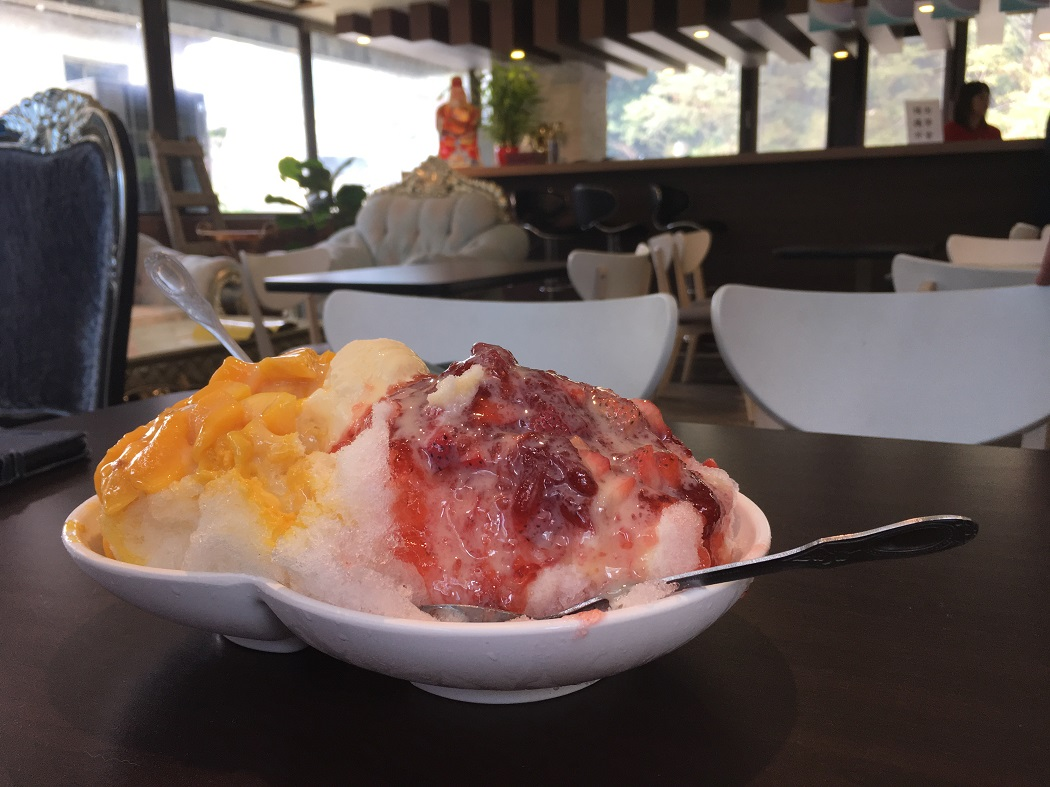 shaved ice, wulai, taiwan