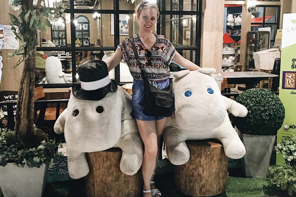 moomin cafe bangkok, gypsified