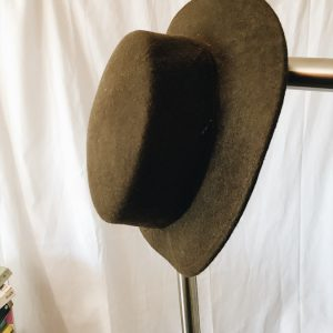 vintage felt hat, second-hand, peregrinapreloved, vintage clothes cape town, vintage clothes south africa